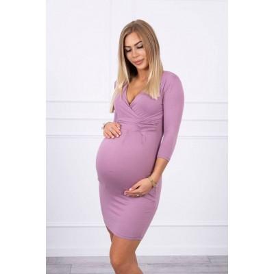 Suknelė nėštukėms - tamsiai rožinės spalvos Suknelės, sijonai