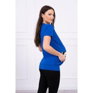 Palaidinė nėščiosioms Guck - mėlynos spalvos