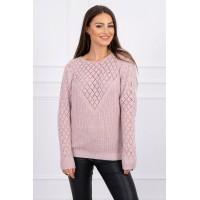 Megztinis rožinės spalvos M/L