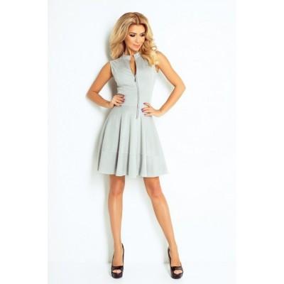 suknelė - Light pilkos spalvos 123-6 Suknelės