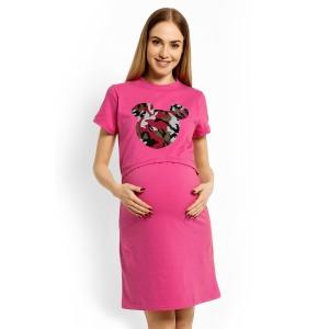 Naktiniai nėščioms - maitinančioms (rožinės spalvos)