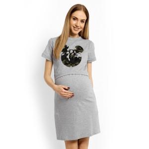 Naktiniai nėščioms - maitinančioms (šviesiai pilkos spalvos)