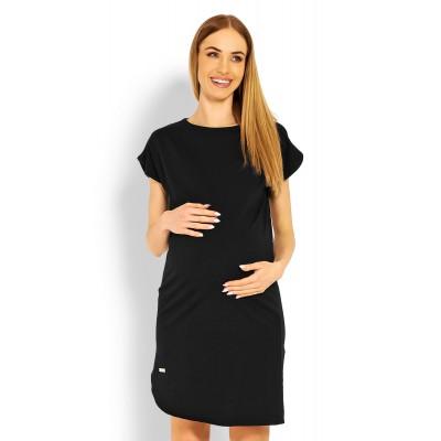 Suknelė nėščiosioms (juodos spalvos) Suknelės