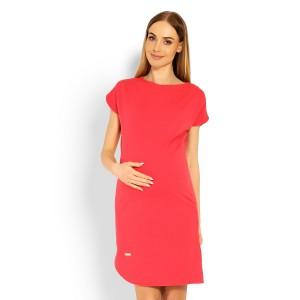 Suknelė nėščiosioms (koralinės spalvos)