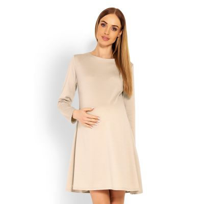 Suknelė nėščiosioms (smėlinės spalvos) Suknelės