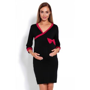 Naktiniai nėščioms - maitinančioms (juodos spalvos)