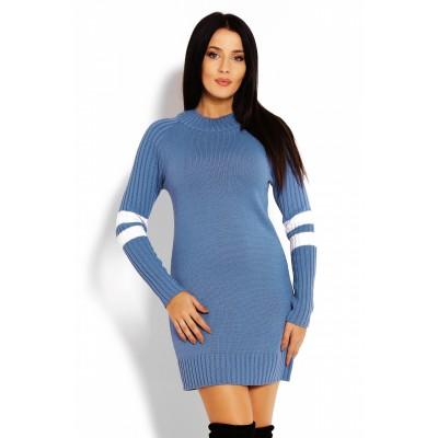 Kasdieninė suknelė (mėlynos spalvos) Suknelės
