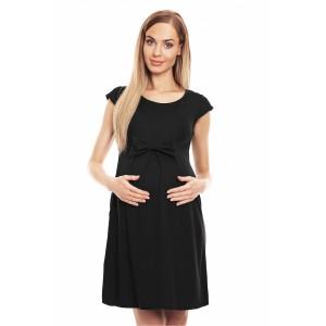 Suknelė nėščiosioms - (juodos spalvos)
