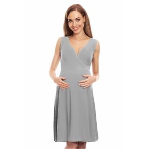 Suknelė nėščiosioms (pilkos spalvos)