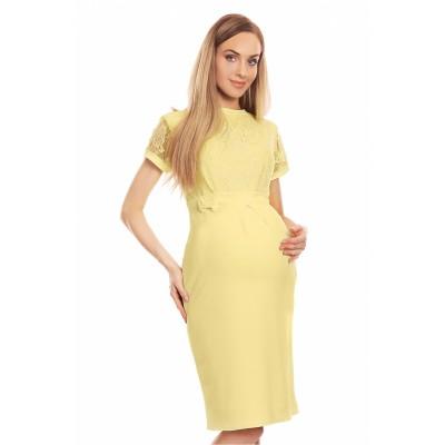 Suknelė nėščiosioms (geltonos spalvos) Suknelės