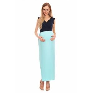 Suknelė nėščiosioms (tamsiai mėlynos spalvos)