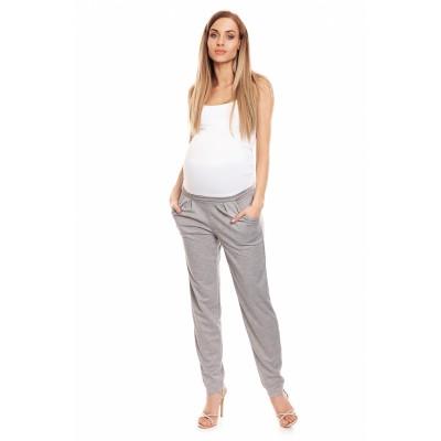 Klasikinės kelnės nėščiosioms (pilkos spalvos) Kelnės