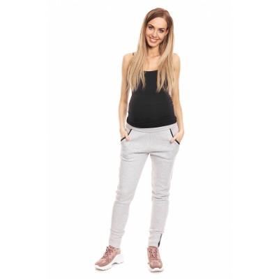 Moteriškos kelnės (pilkos spalvos) Kelnės