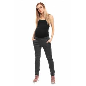 Pašiltintos kelnės nėščiosioms (grafito spalvos)