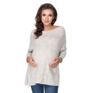 Megztinis nėščiosioms (pilkos spalvos)