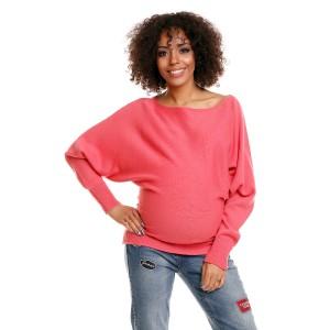 Megztinis nėščiosioms (rožinės spalvos)