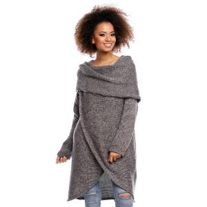 Ilgas džemperis (pilkos spalvos)
