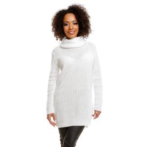 Ilgas džemperis (baltos spalvos)
