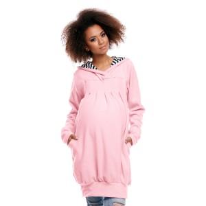 Džemperis nėščiosioms - maitinančioms (rožinės spalvos)