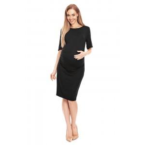 Suknelė nėštukei (juodos spalvos)