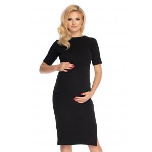 Suknelė nėščiai - maitinančiai (juodos spalvos)