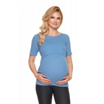 Medvilninė palaidinė maitinančioms / nėščioms (mėlynos spalvos) Palaidinės